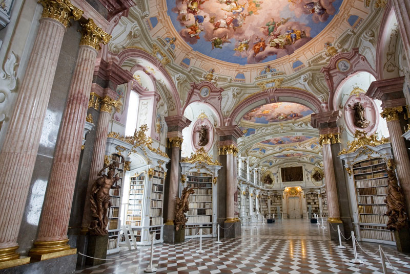 admont abbey monastery library austria (7)