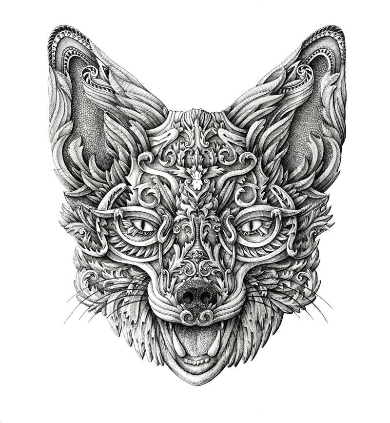 Alex Konahin ink illustrations (13)