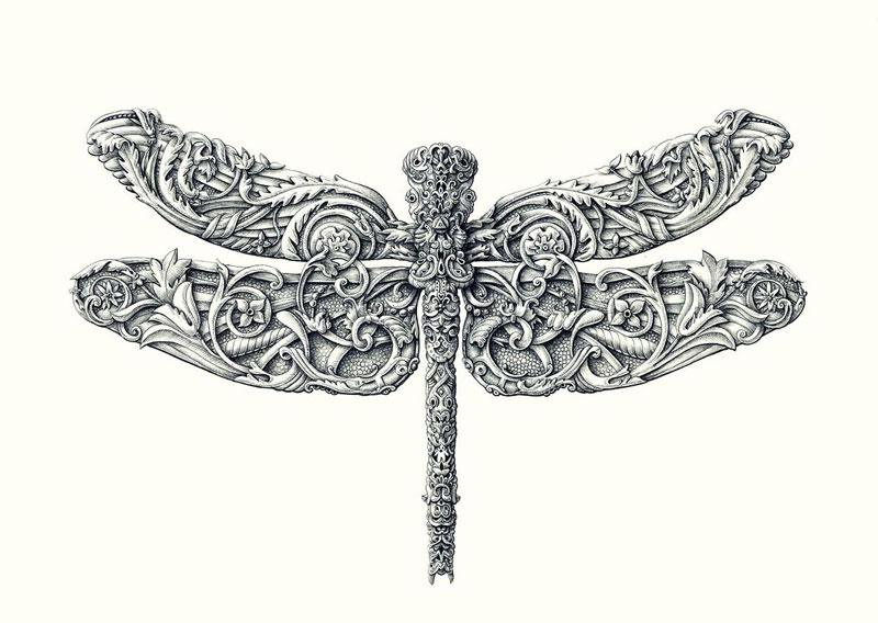 Alex Konahin ink illustrations (14)