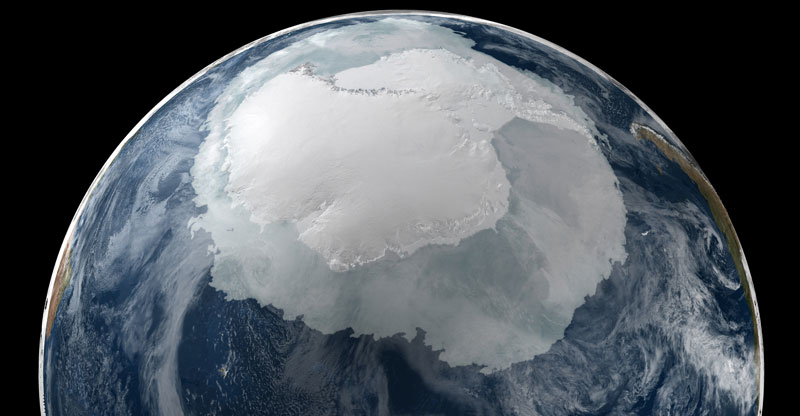 This Image Really Puts the Size of Antarctica Into Perspective