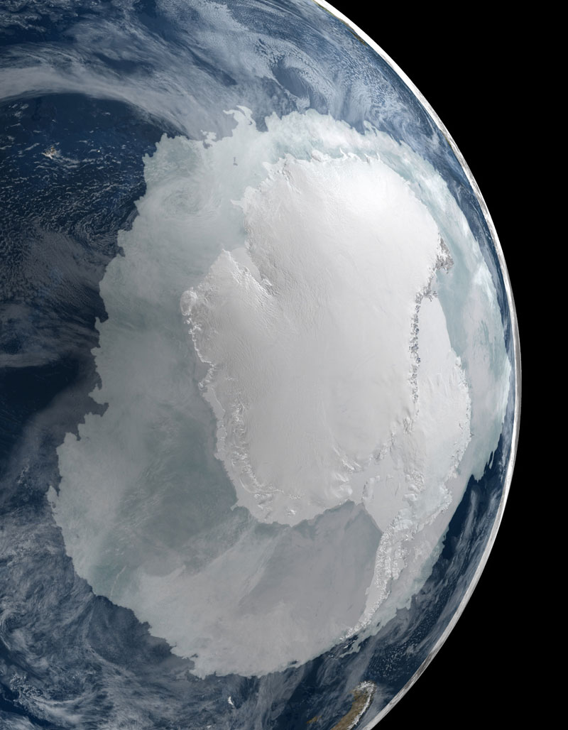 antarctica from space nasa This Image Really Puts the Size of Antarctica Into Perspective
