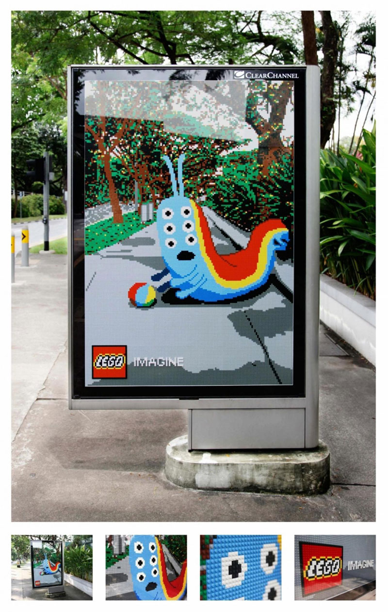billboards made from lego (1)