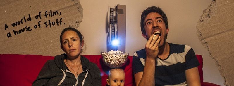 cardboard box office Parents Recreate Movie Scenes with Baby Son and Lots of Cardboard