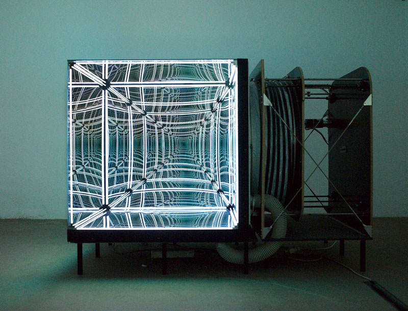 This Light-Bending Cube of One-Way Mirrors Will Really Trip YouOut