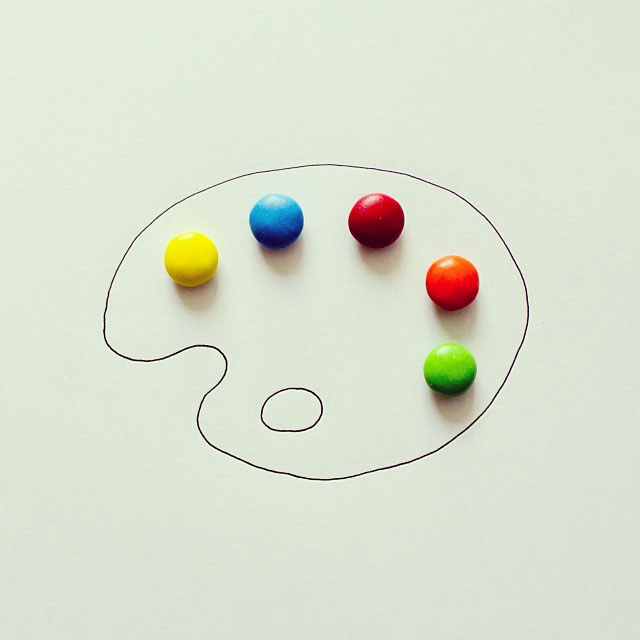 doodles that incorporate everday objects by javier perez cintascotch on instagram (5)