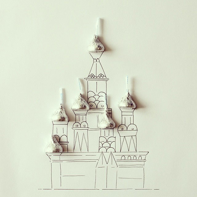 doodles that incorporate everday objects by javier perez cintascotch on instagram (8)