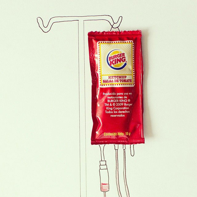 doodles that incorporate everday objects by javier perez cintascotch on instagram (9)