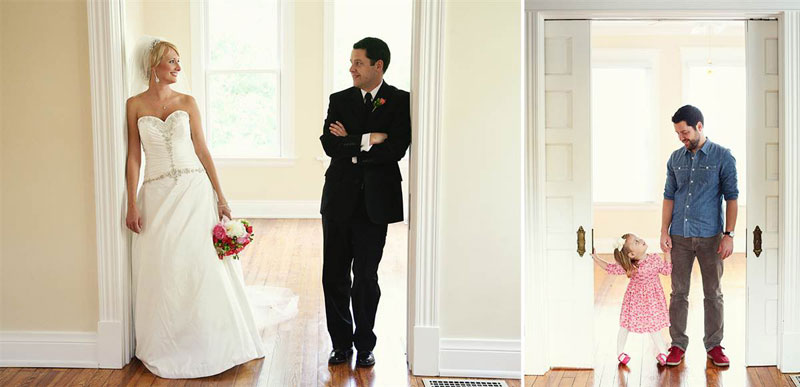 father and daugher recreate wedding photos of late mother wife tracy pace loft3 2 Feel the Love: 15 Creative Engagement Photos