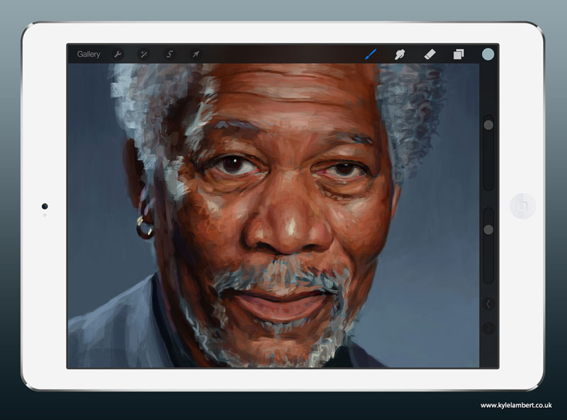 kyle-lambert-morgan-freeman-ipad-finger-painting-stage-2