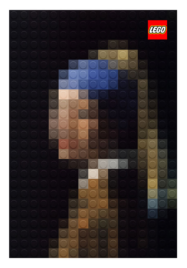 lego artworks of famous paintings (1)