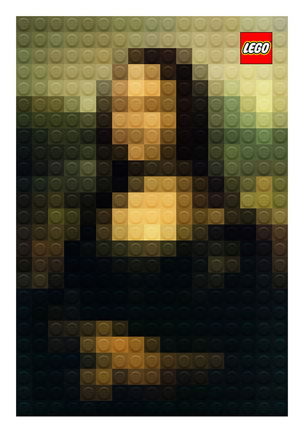 lego artworks of famous paintings (2)