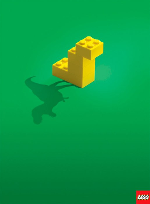 lego imagination ad 2 LEGO Birds by Tom Poulsom