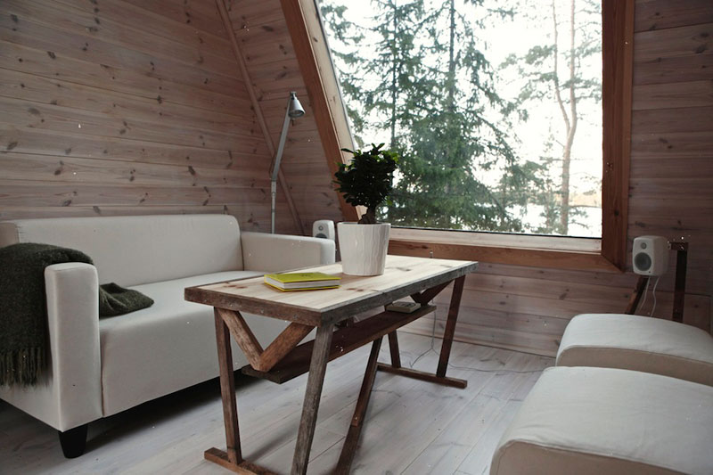 nido hut cabin in woods finland by robin falck (3)