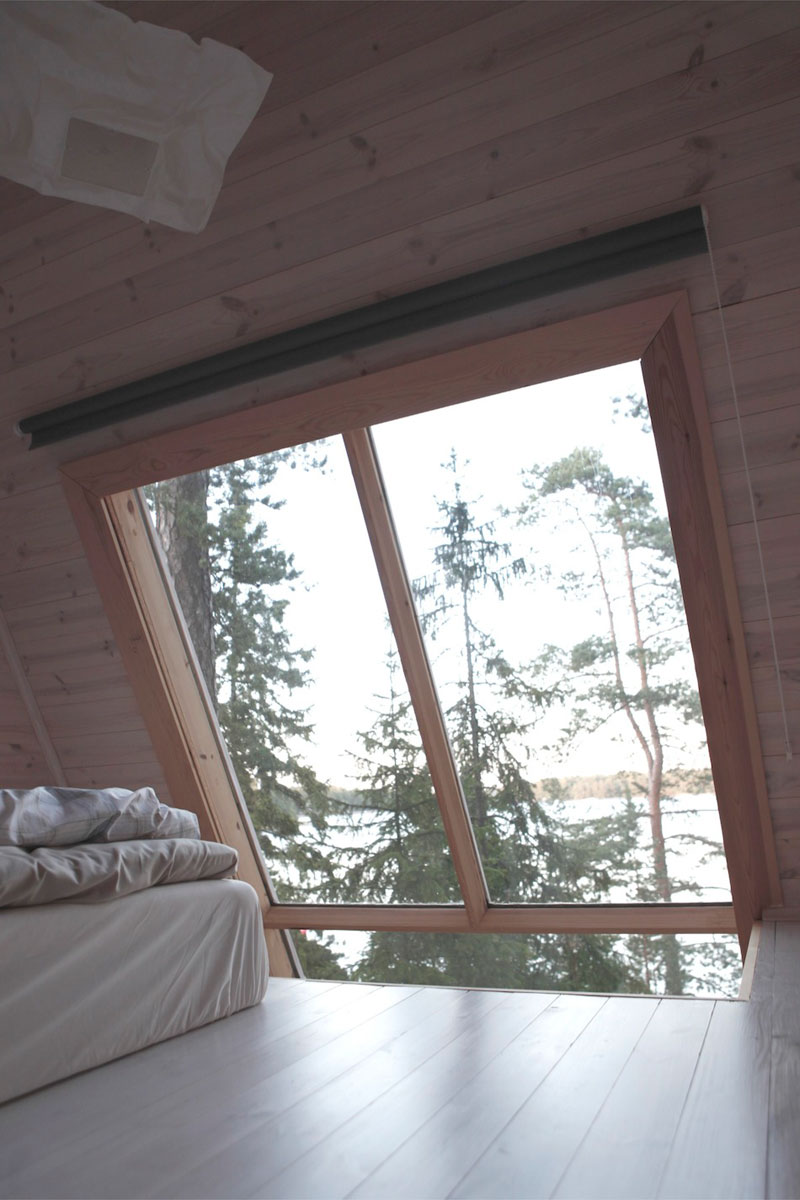 nido hut cabin in woods finland by robin falck (4)
