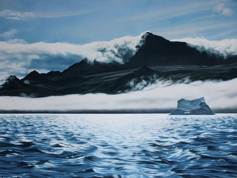 pastel drawings of icebergs by zaria forman (1)