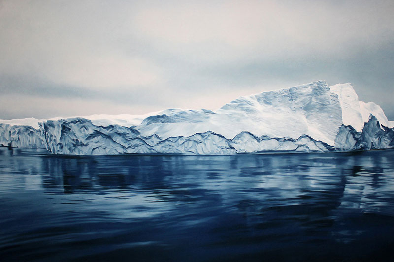 pastel drawings of icebergs by zaria forman (7)