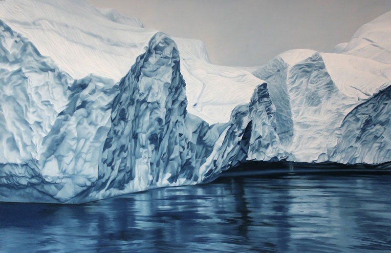 pastel drawings of icebergs by zaria forman (9)