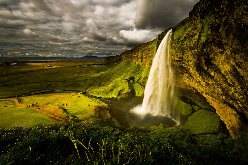 Picture of the Day: Seljalandsfoss, Iceland