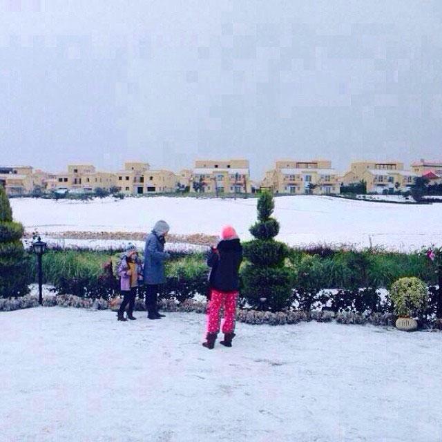 snow in cairo egypt december 2013 (5)