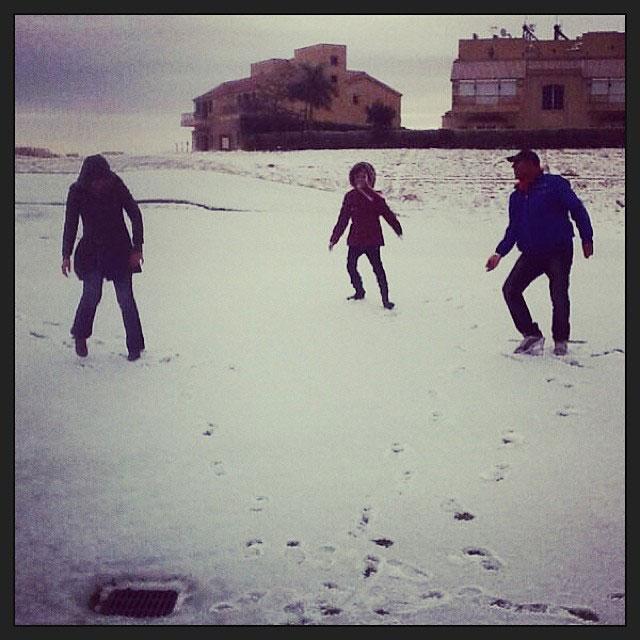 snow in cairo egypt december 2013 (6)