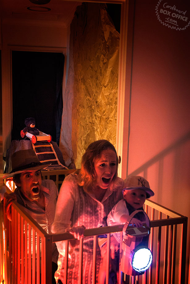 templeofdoom Parents Recreate Movie Scenes with baby Son and cardboard