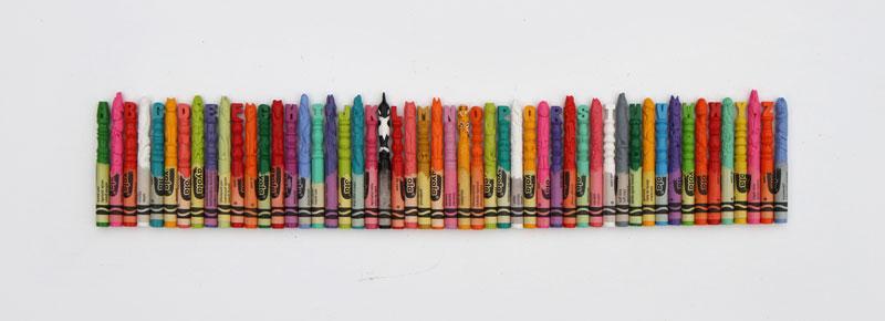 alphabet carved into crayons by diem chau (10)