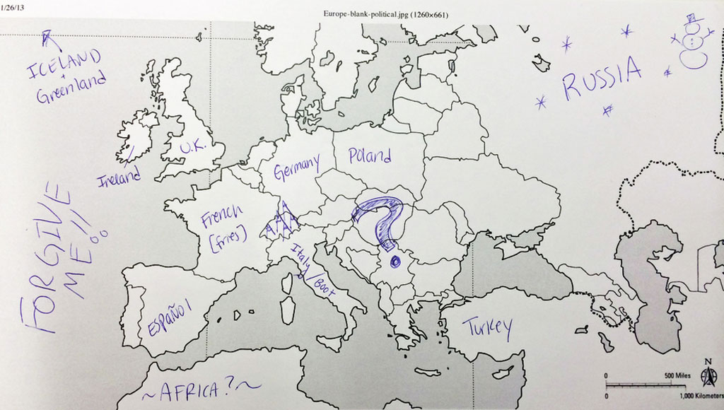 American Students Asked To Label A Map Of Europe (12)