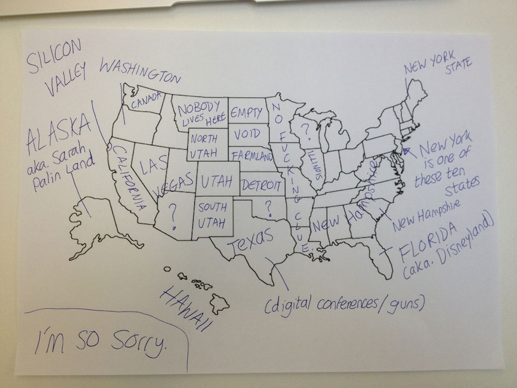 british students asked to label a map of the united states (2)