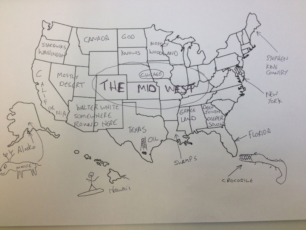 british students asked to label a map of the united states 4