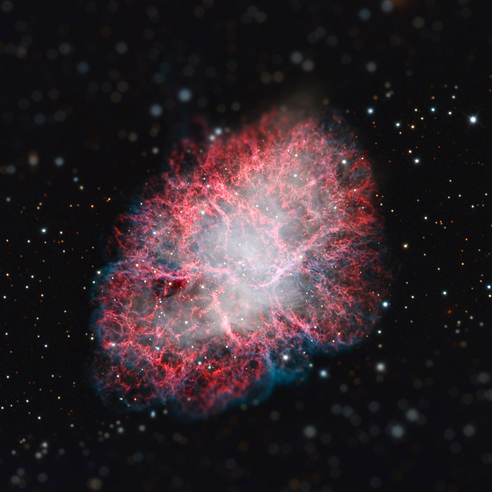 crab nebula tilt shift miniaturized