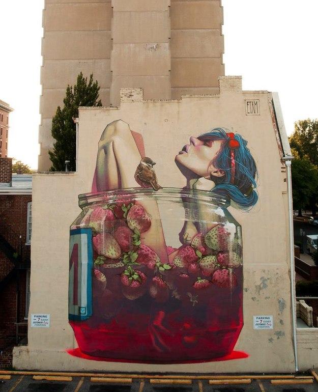 etam cru bezt sainer street art murals best of 2013 (1)