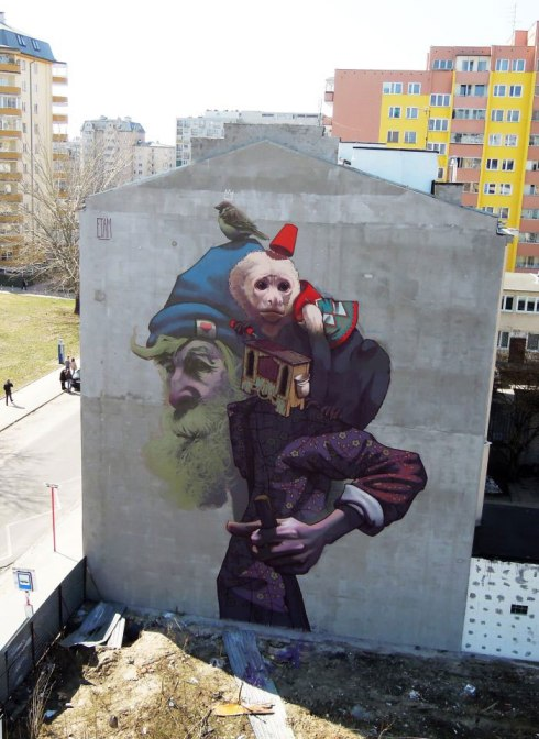 etam cru bezt sainer street art murals best of 2013 (2)