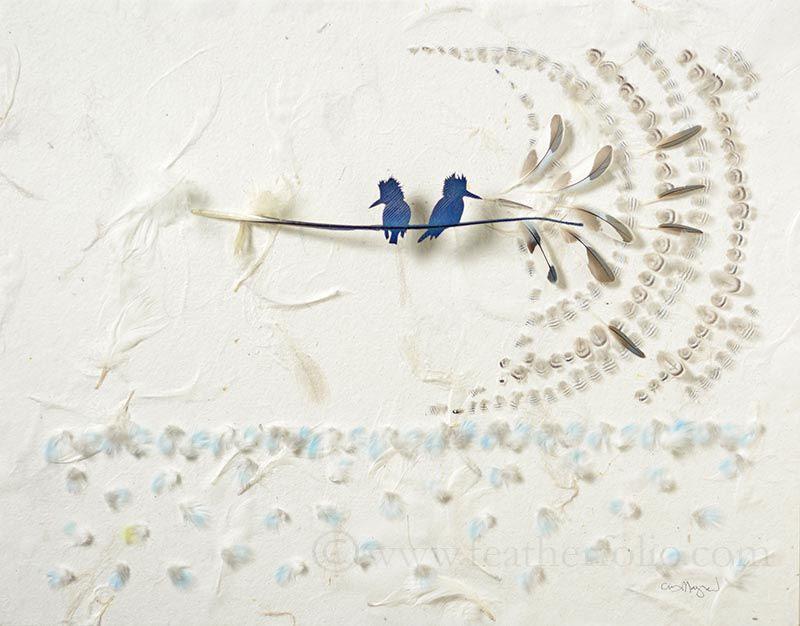 feather cutting art by chris maynard featherfolio (7)