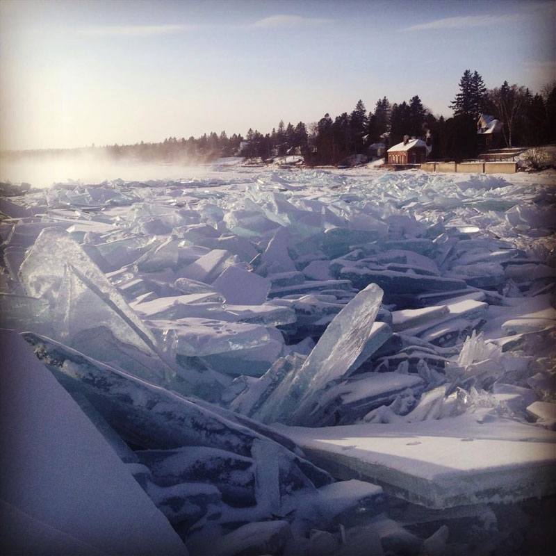 frozen shoes of lake superior The Top 25 Pictures of the Day of 2014