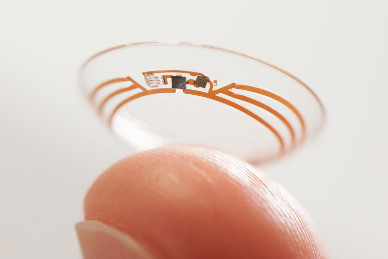 google contact lens for diabetics Picture of the Day: This Contact Lens Could Save Your Life