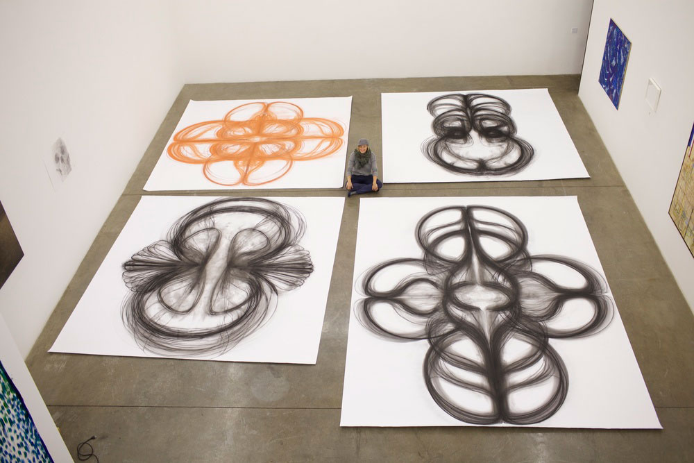 heather hansen kinetic drawings performance at ochi gallery (4)