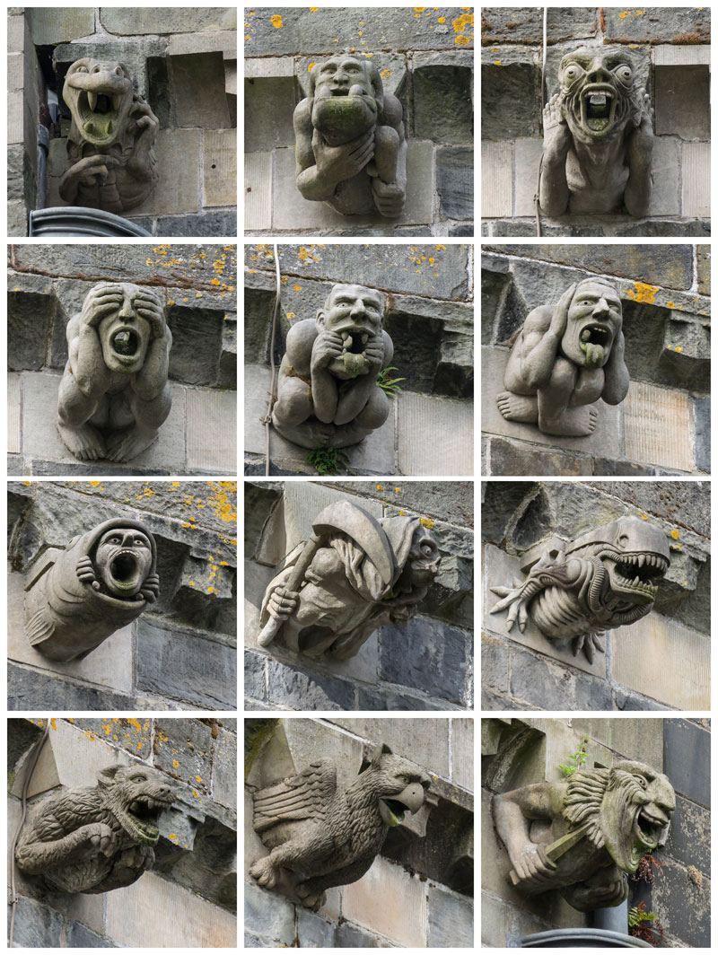 Picture of the Day: The Gargoyles of Paisley Abbey