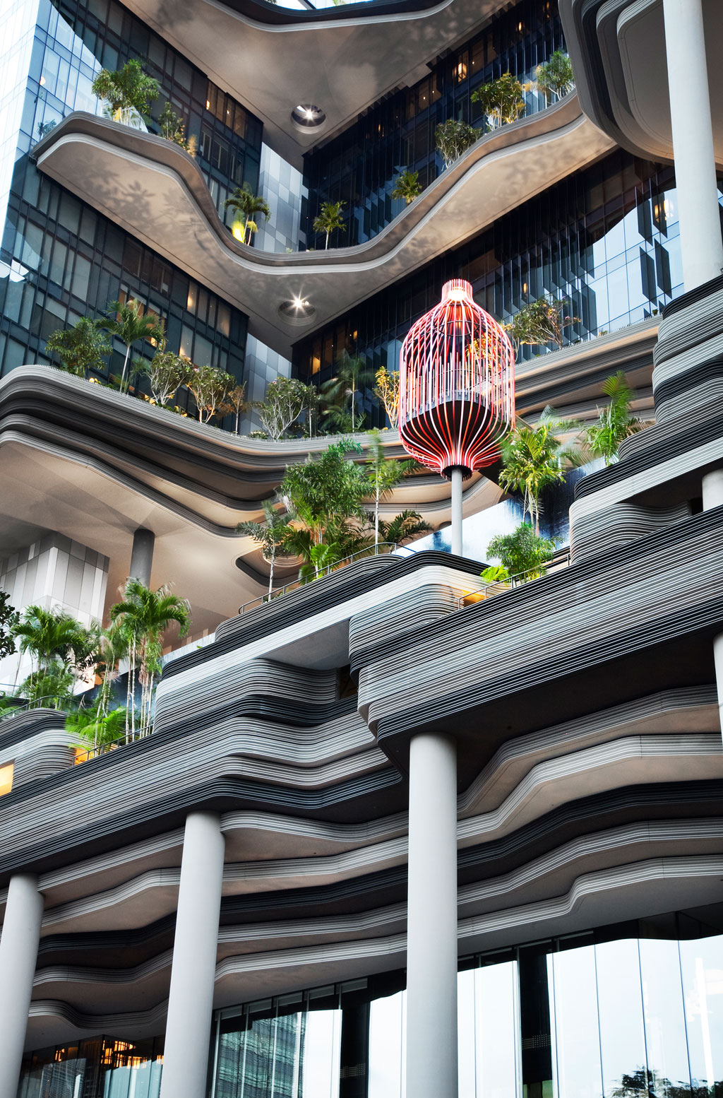 parkroyal on pickering hotel singapore skygardens by woha (1)