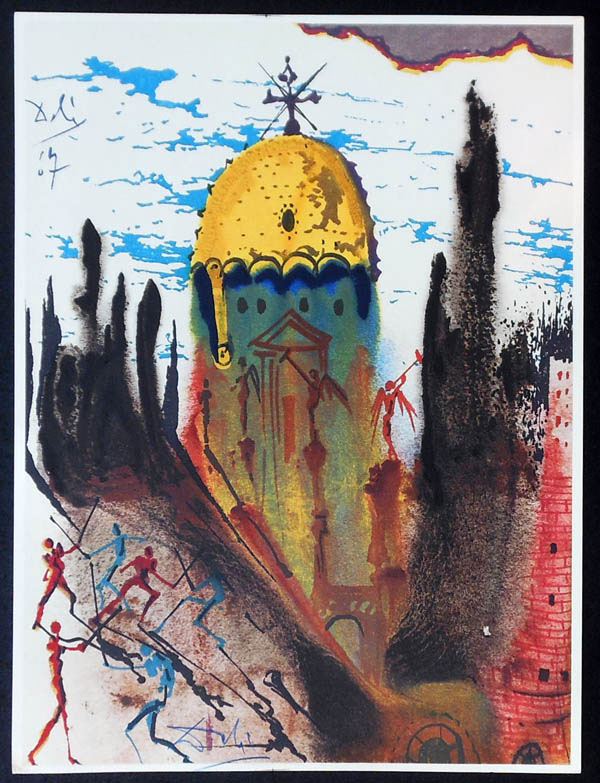 salvador dali romeo and juliet illustrations 1975 (1)