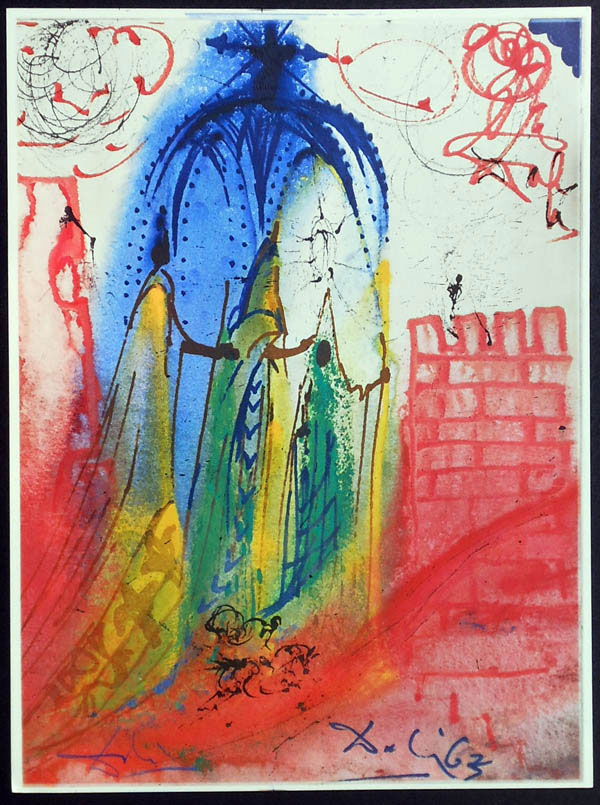 salvador dali romeo and juliet illustrations 1975 (2)
