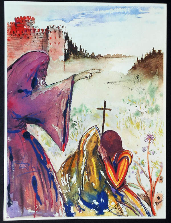 salvador dali romeo and juliet illustrations 1975 (4)
