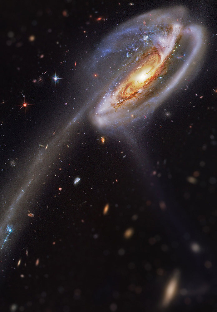 tadpole galaxy tilt shift miniaturized