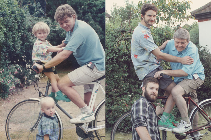 two brothers recreate childhood photos joe luxton (3)