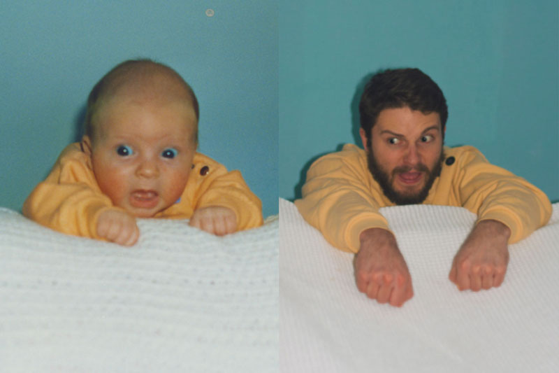 two brothers recreate childhood photos joe luxton (7)