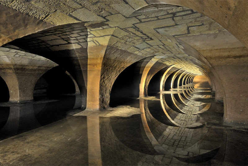Picture of the Day: Underneath the Palace of Versailles