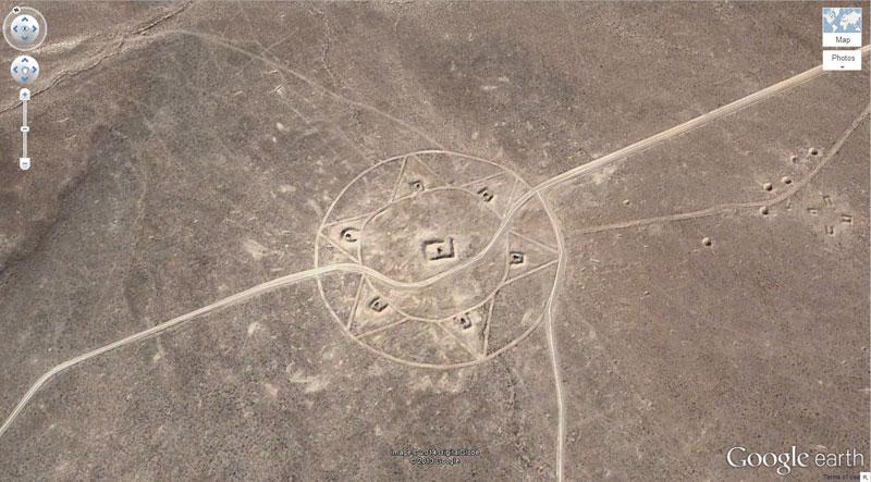 Strange Photo Google Earth