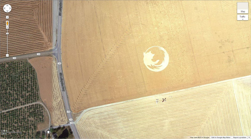 firefox logo google earth