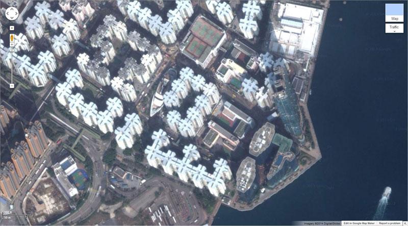 giant ship mall google earth