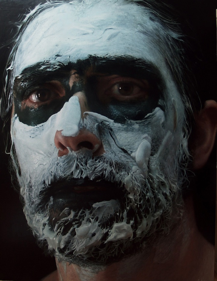 hyperrealistic self portraits paint on face by eloy morales (6)