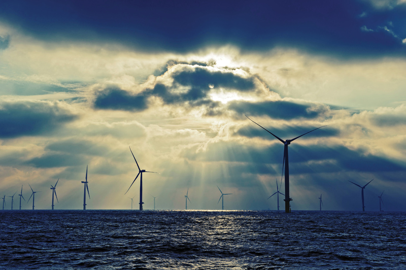 london array offshoe wind farm worlds largest Picture of the Day: The Worlds Largest Offshore Wind Farm